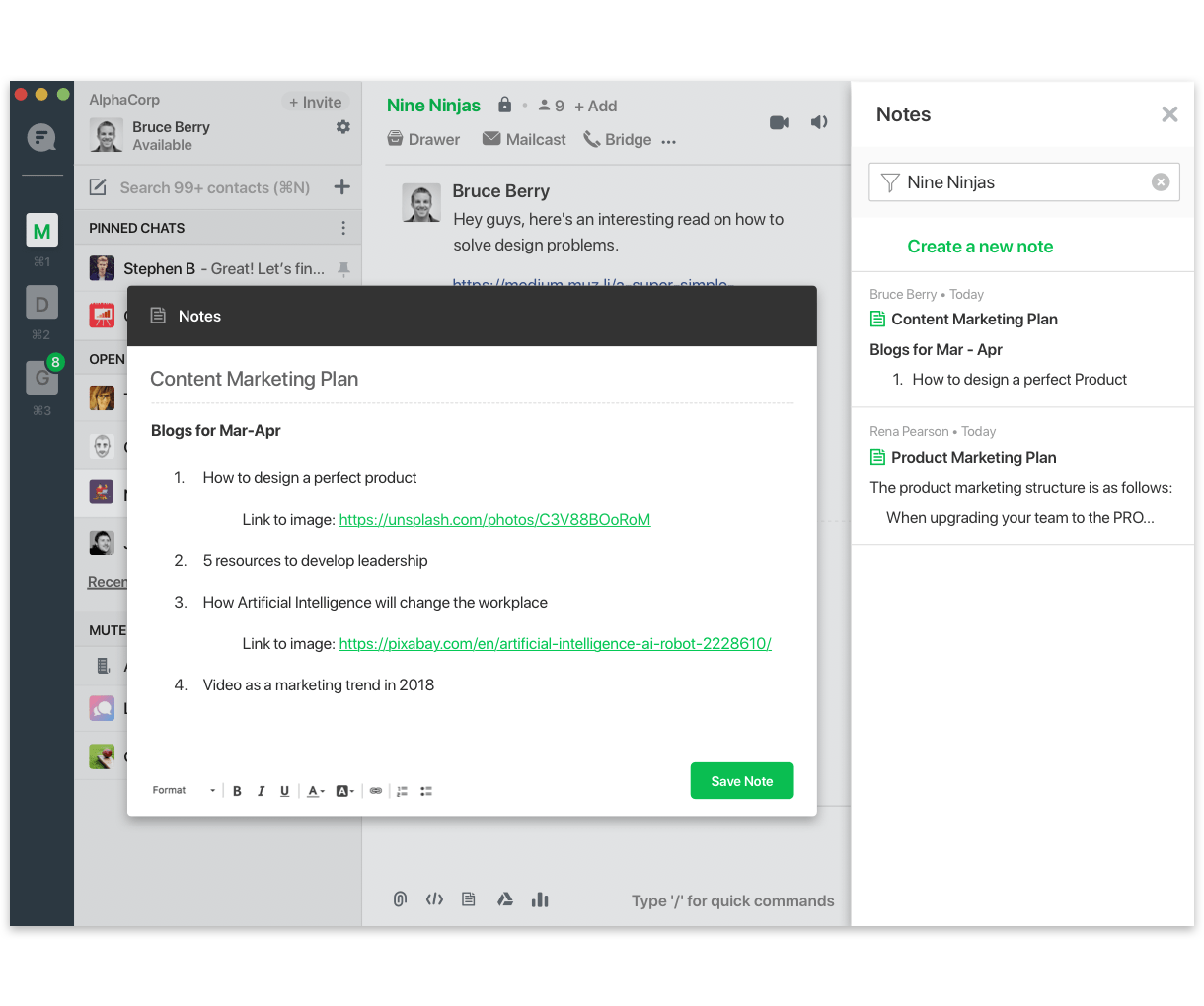 Extend Flock's UI to create an interactive and seamless experience for users