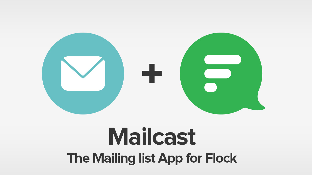 Create and manage group mailing lists from within Flock