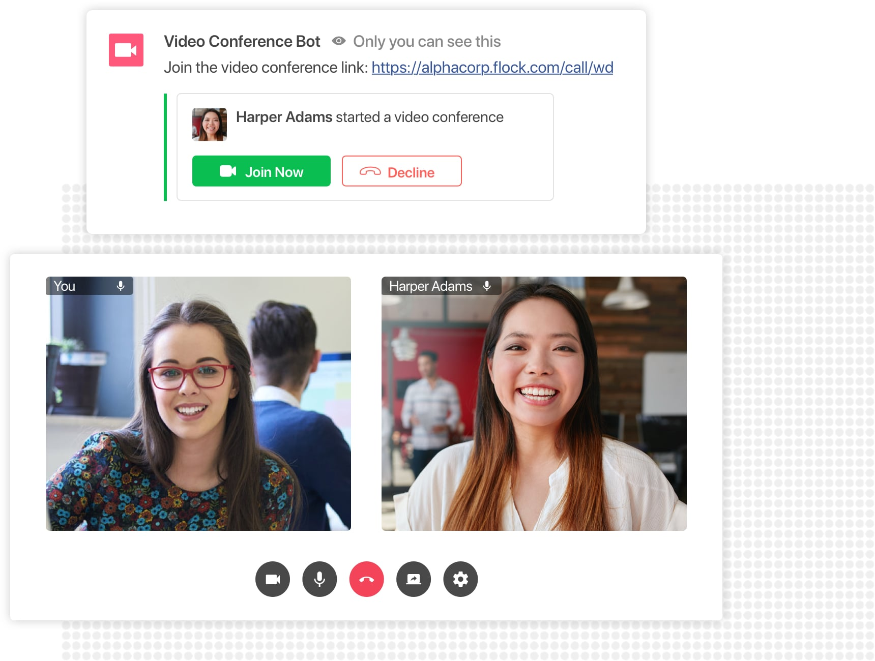 Conduct virtual meetings anywhere