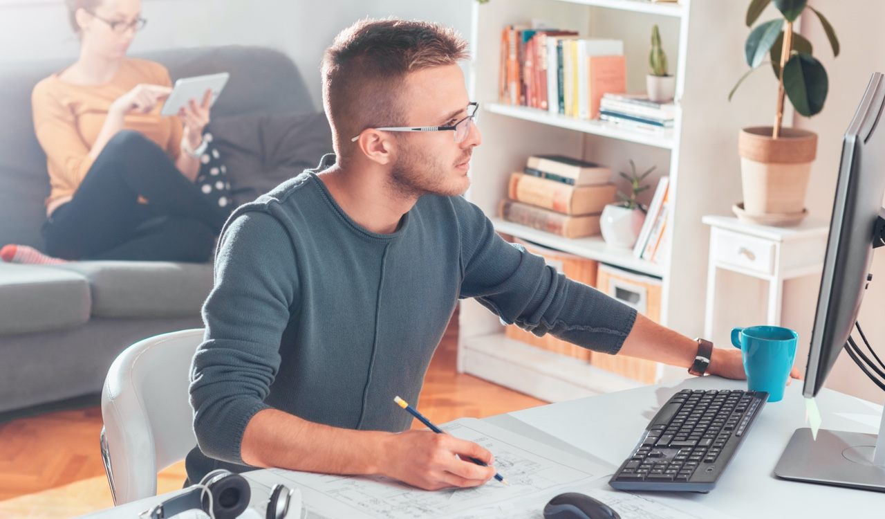 How to be productive working remotely